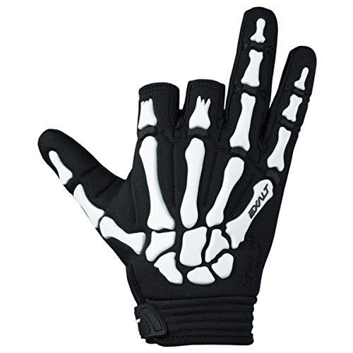 Exalt Paintball Handschuhe Death Grip Gloves weiß, Größe:M