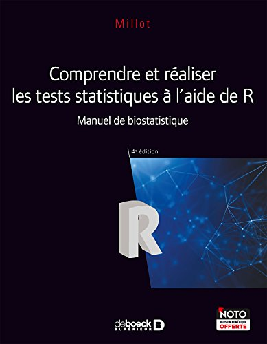 Comprendre et réaliser les tests statistiques à l\'aide de R : Manuel de biostatistique