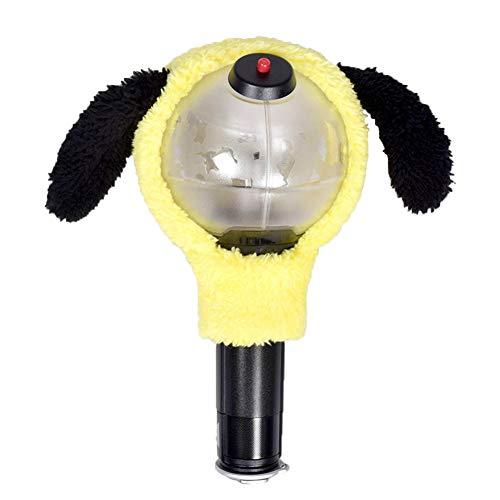 Saicowordist KPOP BTS leuke pluche lichtafdekking concertondersteuning lichtstaaf flexibele lampenkap alleen lampenkap zonder lichtstaaf Chimmy.