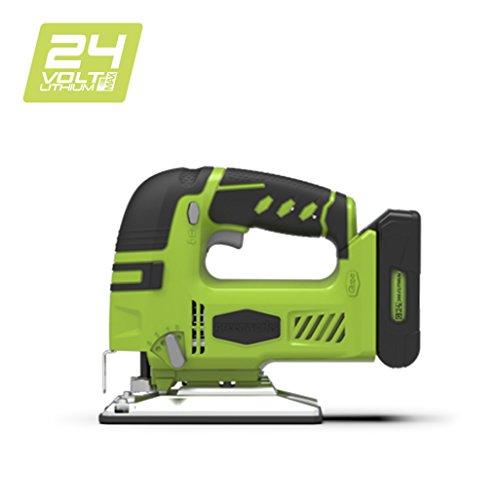 Greenworks 3600707 Akku-Stichsäge 24 V Li-Ion (ohne Akku und Ladegerät)