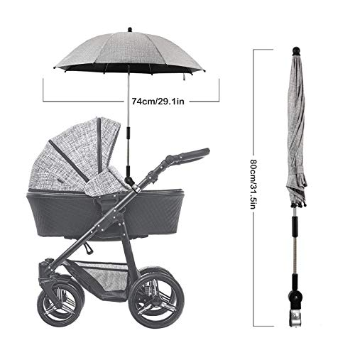 Luchild LD-BL408_BL-umbrella Grau
