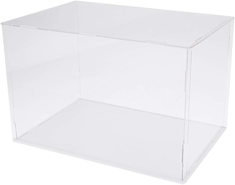 B Blesiya Anime Characters Figure Display Case Box Perspex Showcase Cube - 32x25x25cm