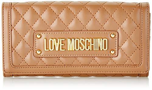 Love Moschino Unisex-Erwachsene Jc5601pp18la0201 Geldbeutel, Beige (Cammello), 9x3x19 centimeters (W x H x L)