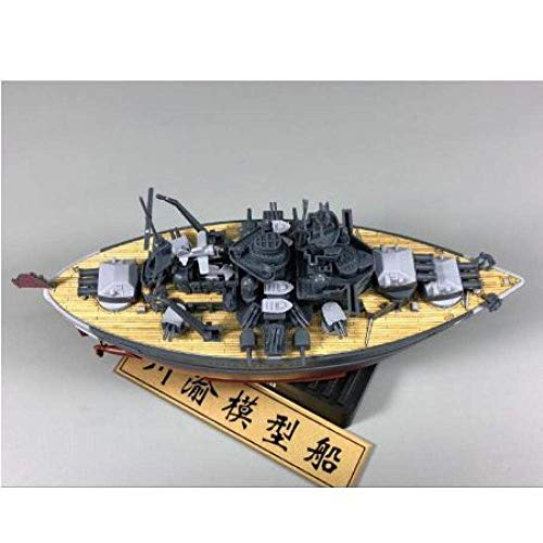 1yess Segelboot-Modell Warship Builder Segelboot Modell Q Ausgabe Kunststoff Montage Model Kit Dekorationen Wohnzimmer Hoelzern Deck Boat Modell