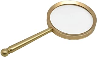 パーソナリティミニ拡大鏡 20X虫眼鏡手拡大鏡ハンドル虫眼鏡は、コインクロスワードパズルの科学の偉大な子供のおもちゃをチェックするためにマップを読み取るために本を読みます
