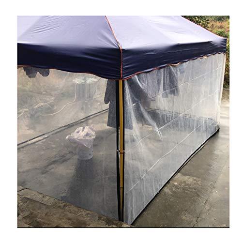 YYFANG Lona Transparente con Ojales,Carpa De PVC Transparente Resistente Al Agua, Aislamiento De Invierno Y Cubierta De Planta Anticongelante, Techo Exterior con Orificios De Metal