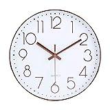 高級感 壁掛け時計 クオ—ツ 静音掛け時計 ローズゴールド 約30cm ホーム ベッドルーム キッチン プレゼントオススメ