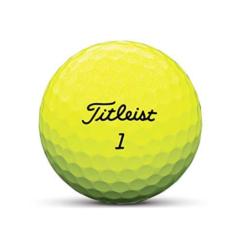 Pro V1X Gelb 2019 Golfball - Individuell Bedruckt mit Ihrem Text Bild oder Logo (1 STK)