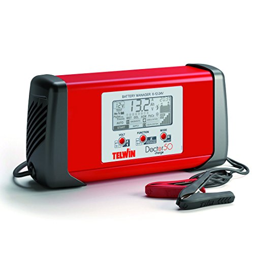 Telwin 807598 Telwin Model Doctor Charge 50 Batterieladegerät, 330 mm x 100 mm x 160 mm