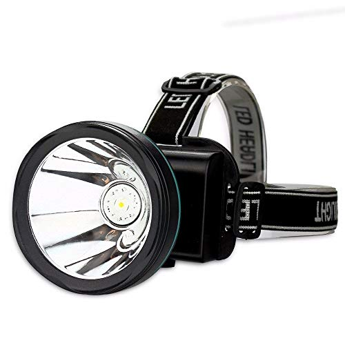 Lampe Frontale High Power Waterproof Lighthouse Classic Lighthouse Battery Rechargeable Battery Head Of Lamp Of Light Lighting Torch Of Flashtorch