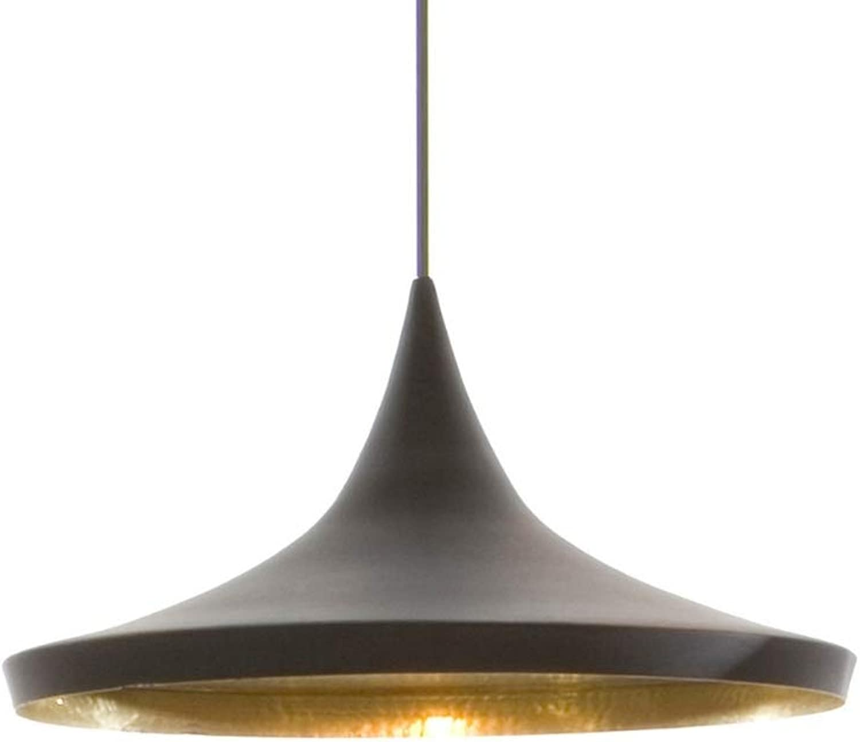 Take Me Home Furniture Carol 3 Pendant in Black with Finish gold Inside, Chandelier Pendant Light, Dining Room, Lighting Home Ceiling Lights Fixture