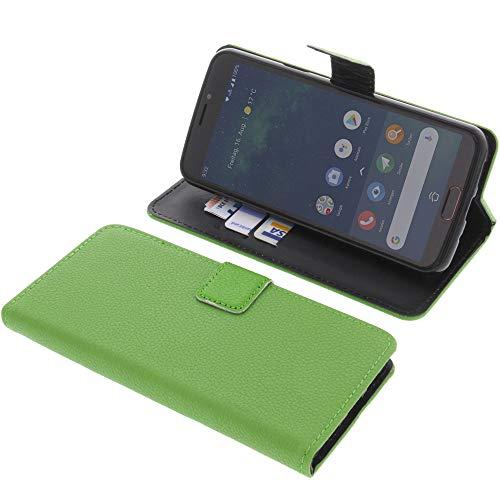 foto-kontor Tasche für Doro 8080 Book Style grün Schutz Hülle Buch