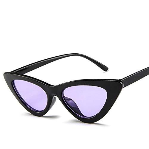 Gafas De Sol PolarizadasVintage Retro Cat Eye Sunglasses MujeresDiseñador De La Marca Cateye Gafas De Sol Gafas Coloridas Al Aire Libre para Mujer