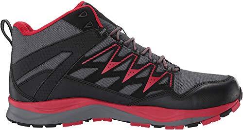 Columbia Men's WAYFINDER MID Outdry Hiking Boot, graphite, steam, 11 Regular US