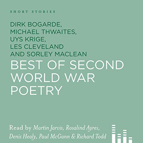 Best of Second World War Poetry audiobook cover art