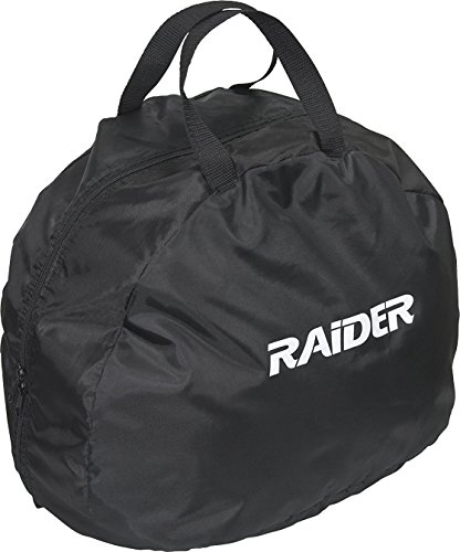Raider BCS-8B Deluxe Black Nylon Durable Motorcycle MX Helmet Bag