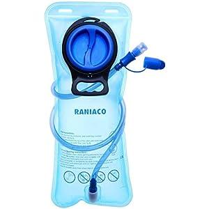 41tEcr3b9qL. SS300  - RANIACO Mochila de hidratación, Pack de hidratación para Correr con 2 l de Bolsa de Agua para Ciclismo, Camping…