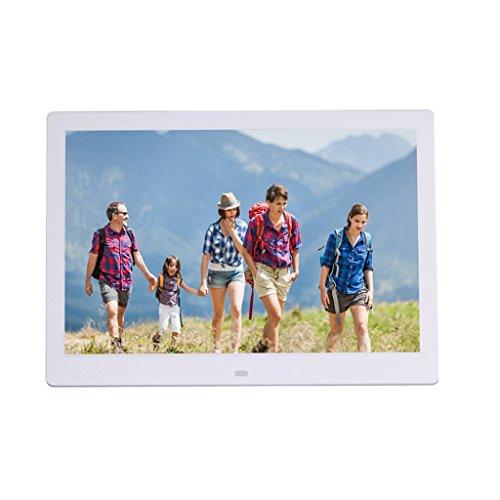 Digitale foto digitale fotolijst LCD-breedbeeld high-definition multifunctionele elektronische album met menselijke sensing functie Ultra-dunne, smalle rand reclame speler 13 inch