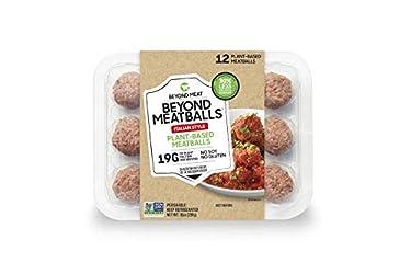 Beyond Meatballs from Beyond Meat, Plant-Based Meat, Frozen, 12 Meatballs, 10 oz, Italian Style