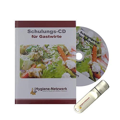 Hygiene Netzwerk Hygiene Schulung   Infektionsschutzgesetz Schulungsunterlagen   zur Folgebelehrung   Hygieneschulung   Personalschulung für Gastwirte   Power-Point-Präsentation auf CD oder USB-Stick