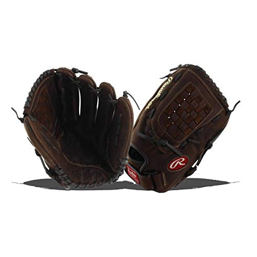 Rawlings Player Preferred First Base Mitt, Brown 12.5, Left Hand Throw