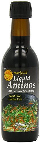 Marigold Liquid Aminos Vegan GF 250ml (Pack of 1)