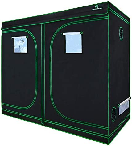 GA Grow Tent 60x60x120CM 24x24x48 Inch Reflective Mylar Hydroponic Grow Tent with Observation Window and Waterproof Floor Tray for Indoor Plant Growing (60x60x120cm)
