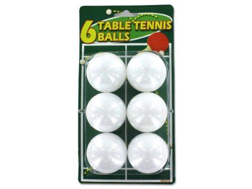 Save %22 Now! Bulk Buys KK029-96 1 3/4 White Plastic Table Tennis Balls - Case of 96