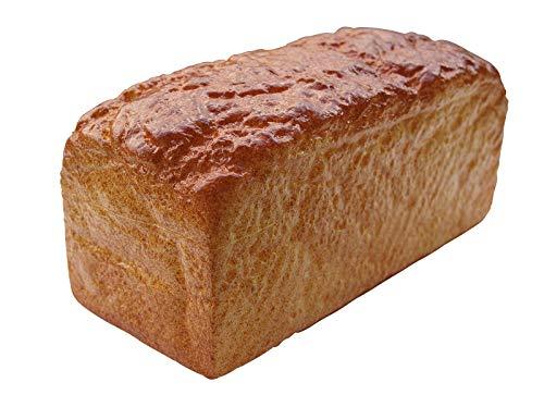 ERRO Brotlaib Attrappe aus Kunststoff, Kastenbrot - 15496, Brot Hohlattrappe, Nachbildung als Requsite, Fooddummy, Gastronomiebedarf