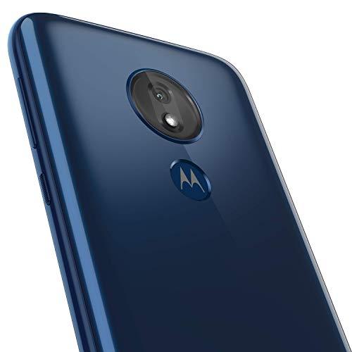 motorola G7 Power – Unlocked – 64 GB – Marine Blue (No Warranty) – International Model (GSM Only) (PAEC0003SV)
