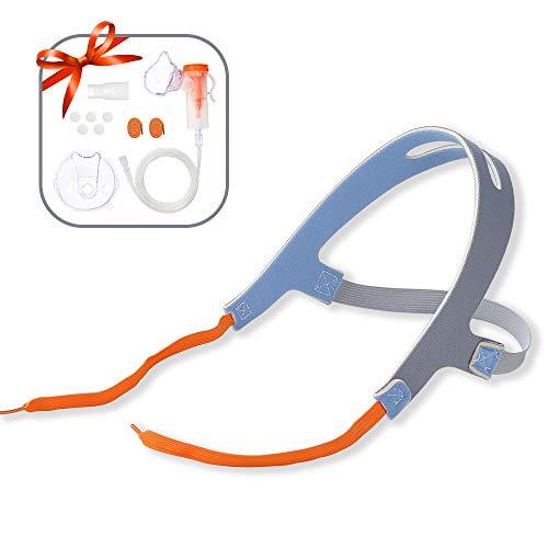 Mask Holder, No-Slip Secure Mask Strap for Cool Mist Inhaler, Comfortable Adjustable Head Straps Kit for Children and Adults