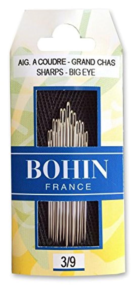 Bohin Sharps Needles Big Eye Sharp Needles 3/9