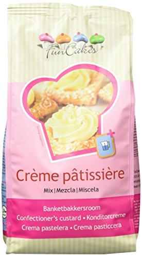 FunCakes Mix für Crème Pâtissière, einfach zu verwenden, leckerer Pudding zum Füllen von Kuchen, Cupcakes und anderen Leckereien, nur Wasser hinzufügen, Halal. 1 kg.