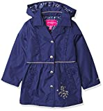 LONDON FOG Girls' Toddler Lightweight Trench Dress Coat Jacket, Fall Navy, 2T