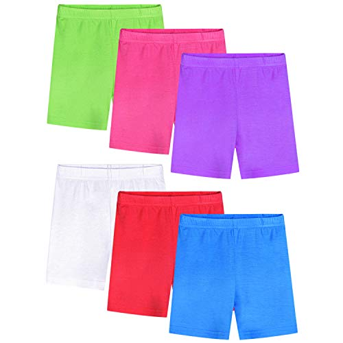 BOOPH Girls Dance Short Teen Bike Short Underdress Sport 10-11 Year Candy Colors