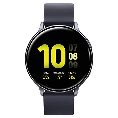 Samsung Galaxy Active 2 Smartwatch 40mm with Extra Charging Cable, Black -...