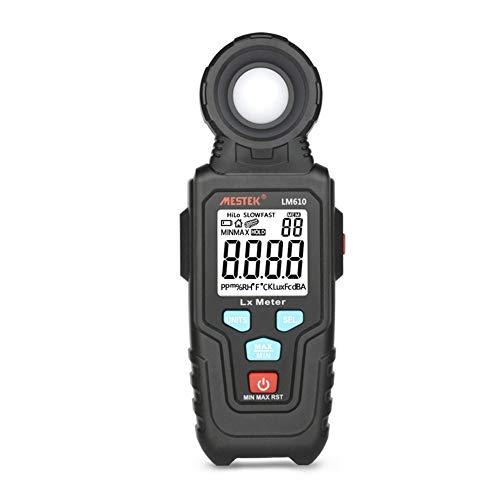 DZSF Tragbarer Handbeleuchtungsmesser Lm610 10.000 LUX Digitale Leuchtdichte Max. Min. Automatische Reichweite Hochpräzise Beleuchtungsmesser Photometer