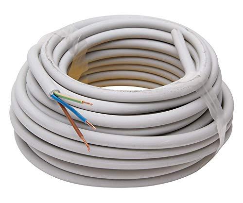 Kopp 150810841 NYM-J 3 x 1,5 mm² Feuchtraum-Kabel, 10 m-Ring