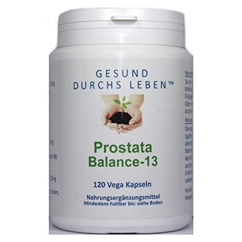 Gesund Durchs Leben, Prostata-Balance-13, 120 vegetarische Kapseln