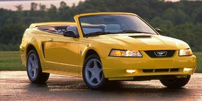 Awesome 1999 Ford Mustang, 2 Door Convertible ...