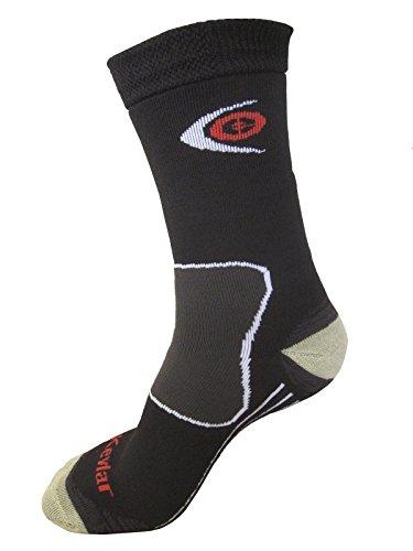 Expansive Trekking Schützen Socken Kevlar schwarz Größe UK 2,5–5(EUR 35–38) Merinowolle Coolmax