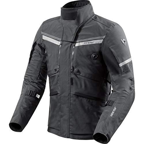 REV'IT! Chaqueta de Moto con Protectores Chaqueta de Moto Poseidon 2 GTX Textiljacke, Caballeros, Tourer, Todo el año