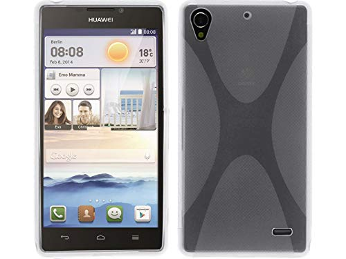 Funda Gel TPU Transparente Huawei Ascend G630 Modelo X Line