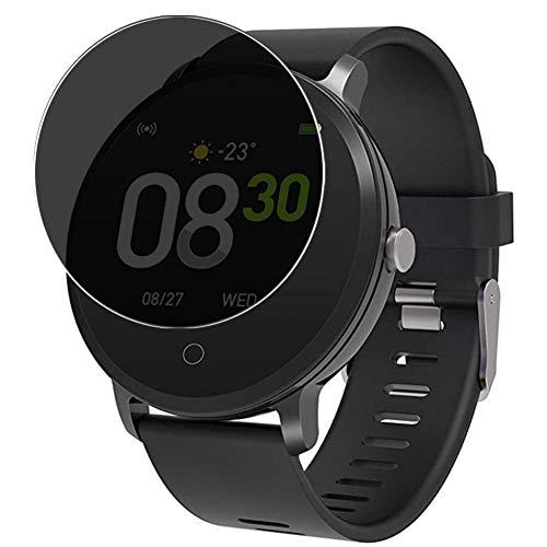 Vaxson Anti Spy Schutzfolie kompatibel mit BingoFit x9 smartwatch Smart Watch, Displayschutzfolie Bildschirmschutz Privatsphäre Schützen [nicht Panzerglas]