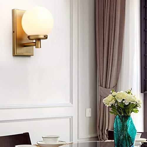 Yosoan Glas Kugel Wandleuchten Vintage Industrie Loft-Wandlampen Stilvoll Schlicht Design Wandbeleuchtung Leuchte, Innenleuchte, Außenleuchte (antike)