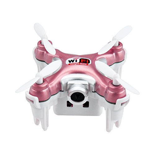 kingtoys® Mini RC Drone Cheerson CX-10WD-TX WiFi FPV Quadcopter con...