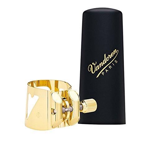 Vandoren LC07P - Abrazadera para saxofón alto, color dorado