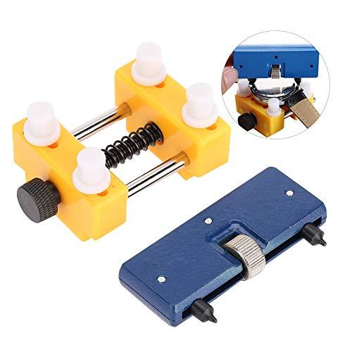 Reloj abridor de caja, Kit de herramientas de reparación 2 Pcs Jaws...