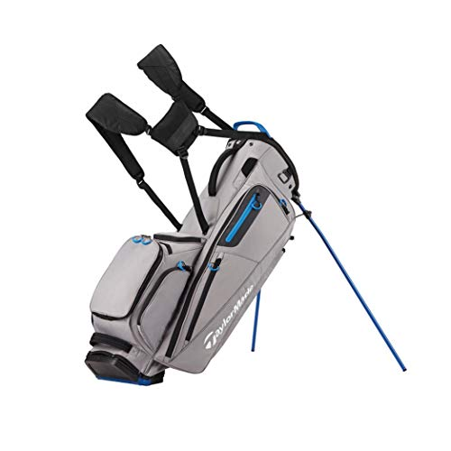 TaylorMade Herren Flextech Golfschlägertaschen, Herren, N6533101, White/Black/Blue, Einheitsgröße