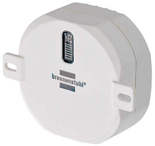 Brennenstuhl Brematicpro draadloze rolluiken Aktor (Smart Home inbouw-rolluikbediening, voor automatisering van rolluiken), wit